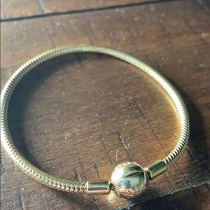 Pandora Shine 18K Gold Bracelet sz. 19cm/7.5 inch